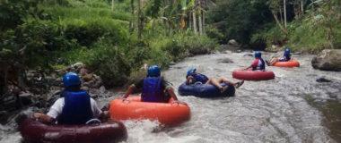 River Tubing and Jungle trekking at lekeleke adventures bali, call or whatsapp : +62 81337314000