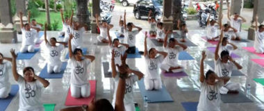 yoga class as a regular