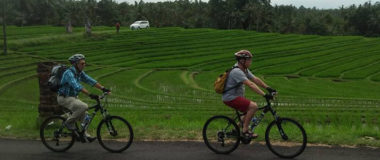 CYCLING and village environment