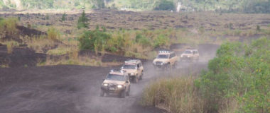 Bali black lava tour with offroad style, fun and fantastic